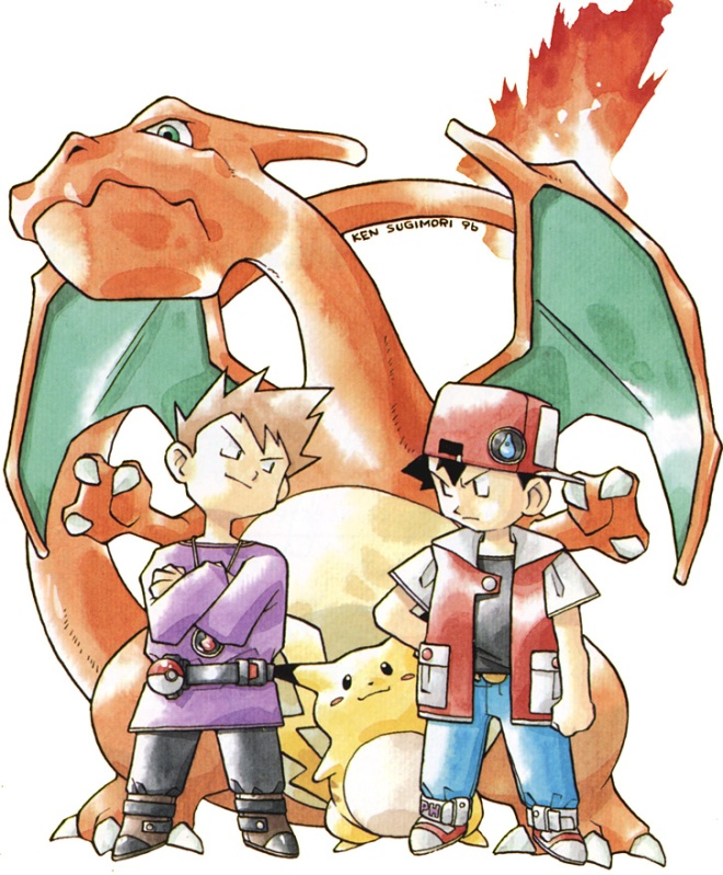 Pokemon Artwork 1