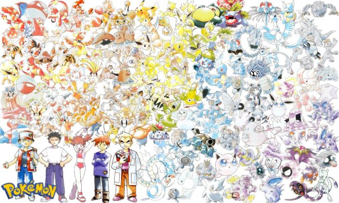 Pokemon Artwork 2