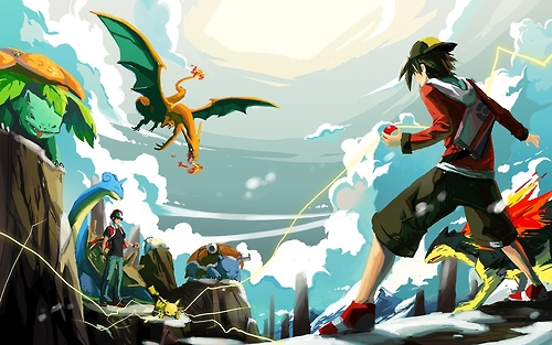 pokemon vs red